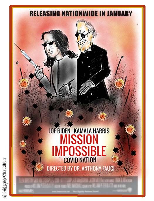 Joe Biden & Kamala Harris - Mission Impossible - Fighting COVID