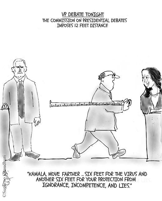 Veep Debate - Kamala Harris and Mike Pence