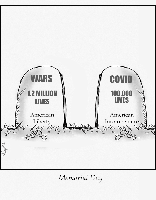 Memorial Day 2020 Cartoon