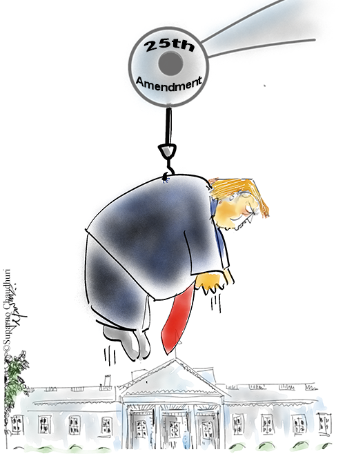 Trump Removal Cartoon